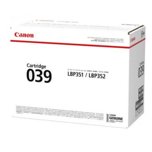 Canon CRG039 Eredeti Toner
