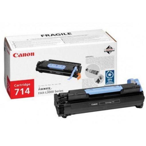 Canon CRG714 Eredeti Fekete Toner