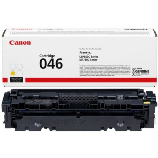 Canon CRG046 Eredeti Yellow Toner