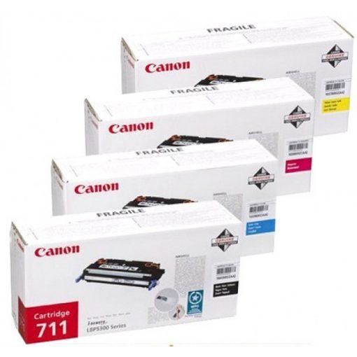 Canon CRG711 Eredeti Yellow Toner