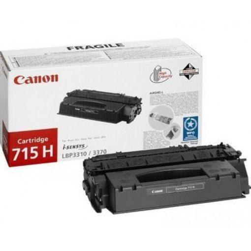 Canon CRG715H Eredeti Fekete Toner