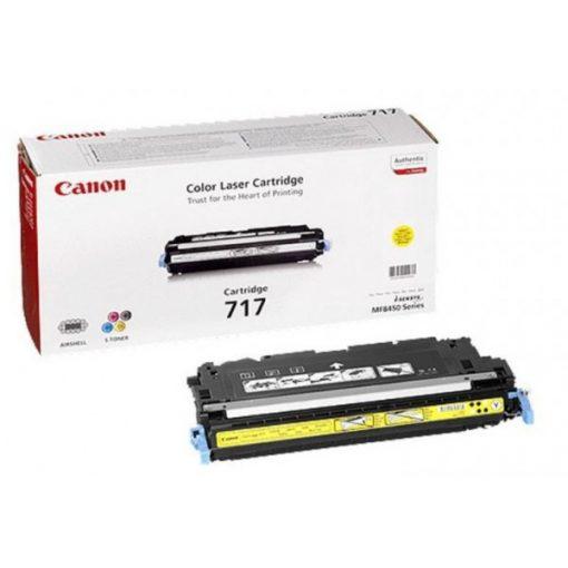 Canon CRG717 Eredeti Yellow Toner