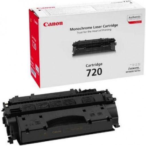 Canon CRG720 Eredeti Fekete Toner