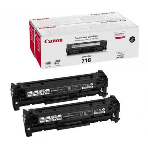 Canon CRG718 Dupla Eredeti Fekete Toner