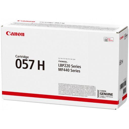Canon CRG057H Eredeti Fekete Toner