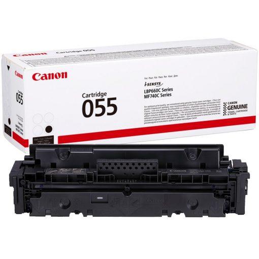 Canon CRG055 Eredeti Fekete Toner