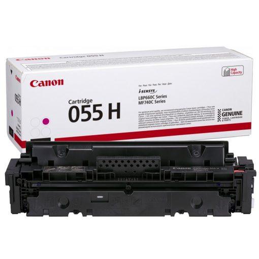 Canon CRG055H Eredeti Magenta Toner