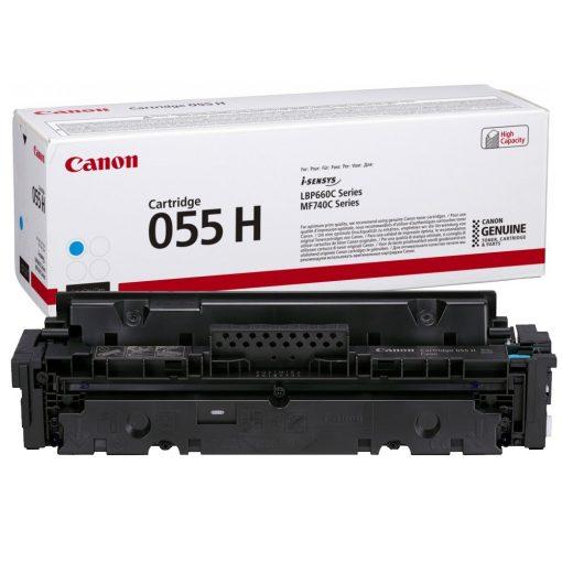Canon CRG055H Eredeti Cyan Toner