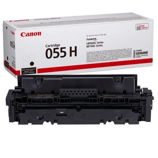 Canon CRG055H Eredeti Fekete Toner