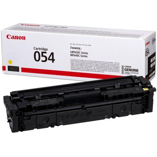 Canon CRG054 Eredeti Yellow Toner