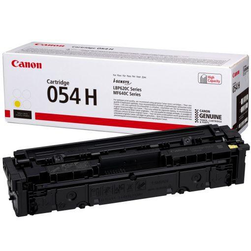 Canon CRG054H Eredeti Yellow Toner