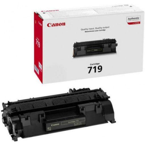 Canon CRG719 Eredeti Fekete Toner