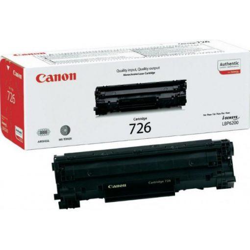 Canon CRG726 Eredeti Fekete Toner