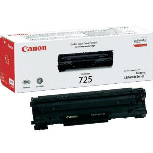 Canon CRG725 Eredeti Fekete Toner