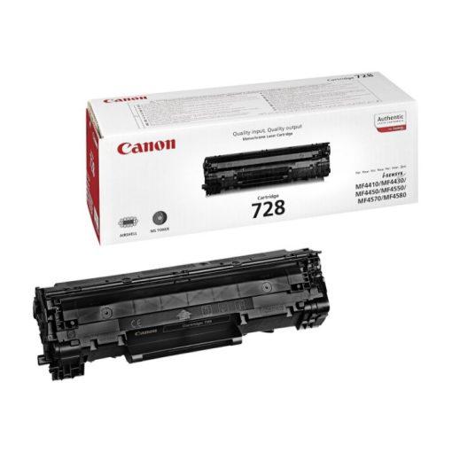 Canon CRG728 Eredeti Fekete Toner
