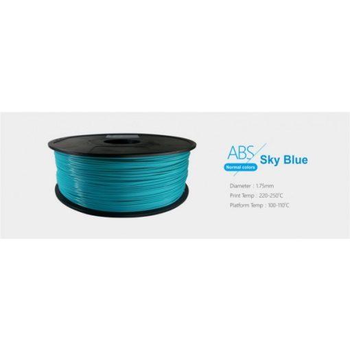 3D FILAMENT 1,75mm ABS Ég kék (1kg-os tekercs