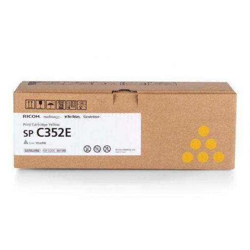 Ricoh SPC352 Genuin Yellow Toner