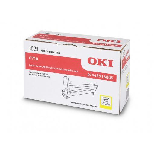 OKI C710 15K Genuin Yellow Drum