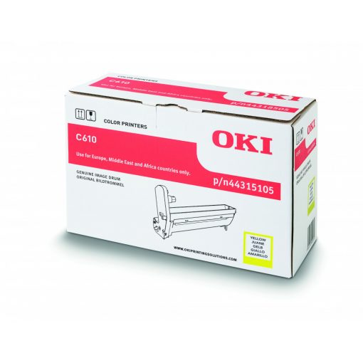 OKI C610 Genuin Yellow Drum