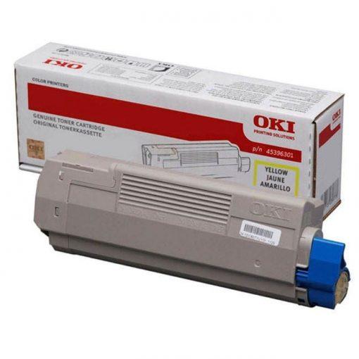 Oki MC760, 770, 780 Genuin Yellow Toner