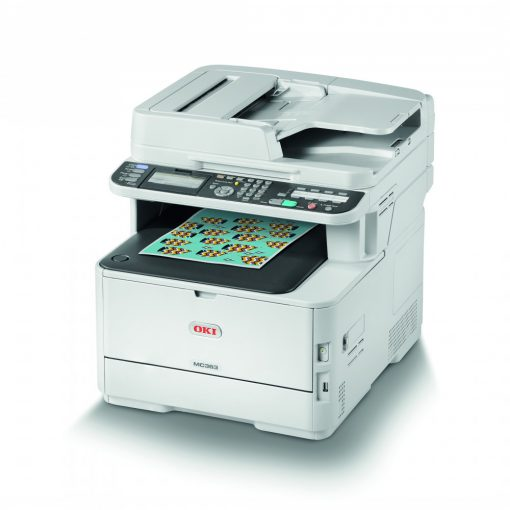 Oki MC363DNW DADF color Multifunkciós Printer