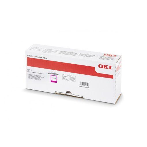 Oki C712 11500 oldal Genuin Magenta Toner