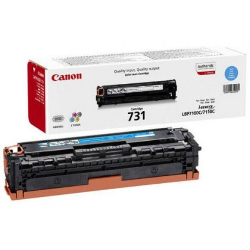 Canon CRG731 Eredeti Cyan Toner
