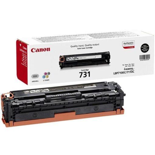 Canon CRG731 Eredeti Fekete Toner