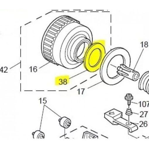 RI A229 3217 Retaining ring seal AFI1060