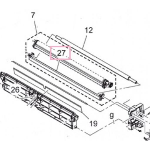 Min A7AHR72100 Paper podwer rem. B227