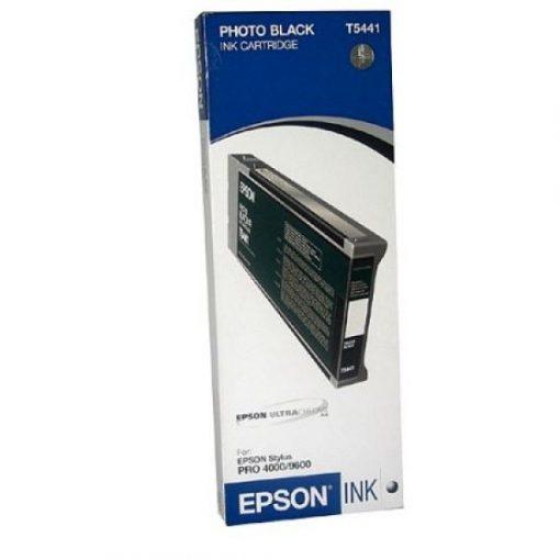 Epson T5441 Eredeti Fekete Plotter Tintapatron
