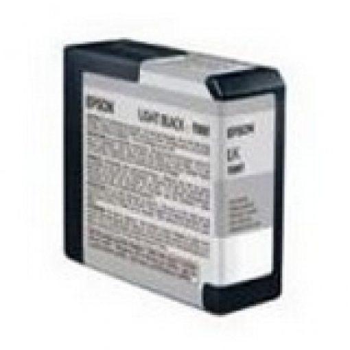 Epson T5807 Eredeti Világos Fekete Plotter Tintapatron