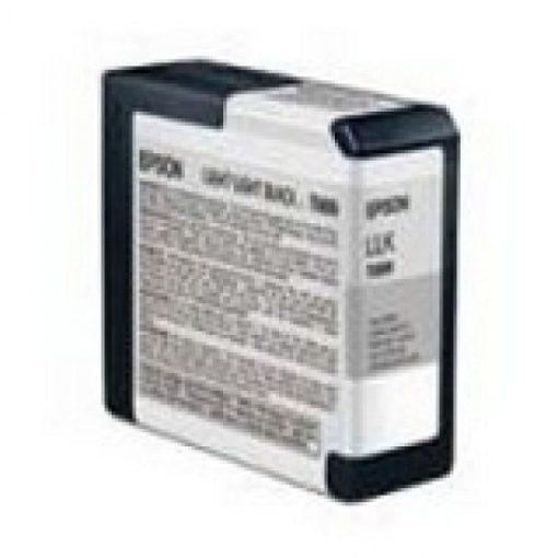 Epson T5809 Eredeti Világos Világos Fekete Plotter Tintapatron