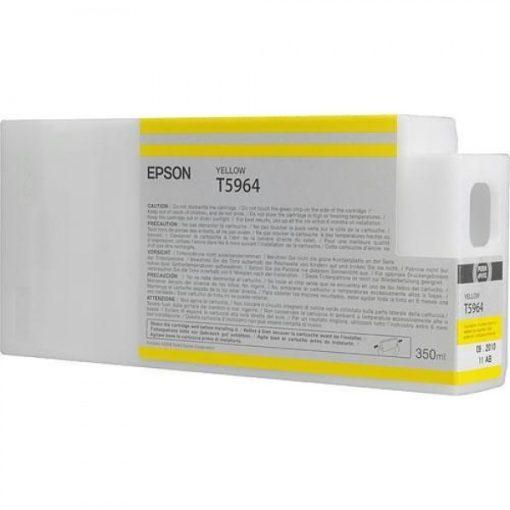 Epson T5964 Eredeti Sárga Plotter Tintapatron