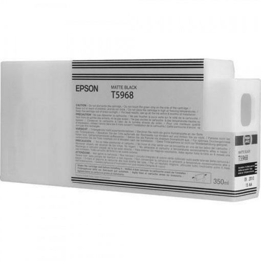 Epson T5968 Eredeti Matt Fekete Plotter Tintapatron