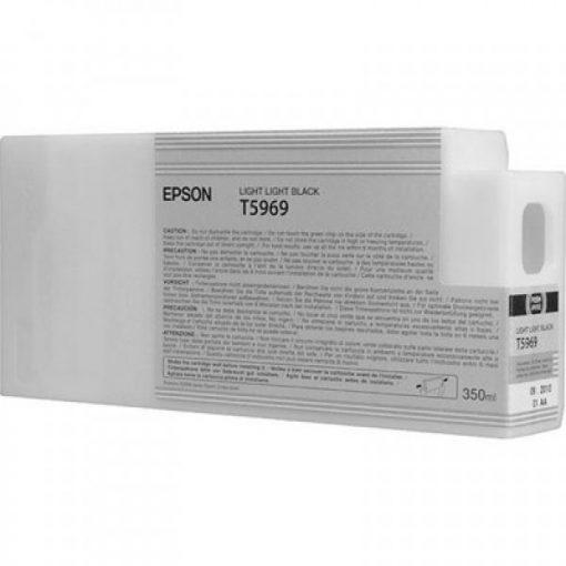 Epson T5969 Eredeti Világos Fekete Plotter Tintapatron