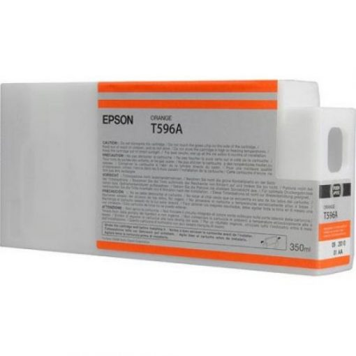 Epson T596A Eredeti Orange Plotter Tintapatron