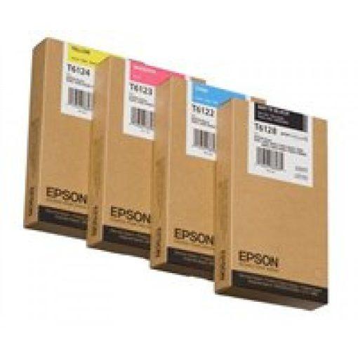 Epson T6122 Eredeti Cián Plotter Tintapatron