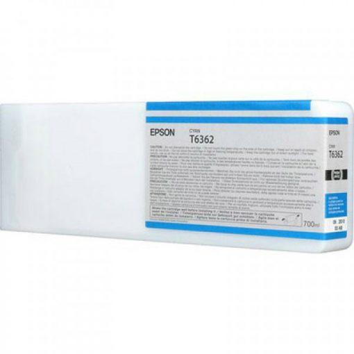 Epson T6362 Eredeti Cián Plotter Tintapatron