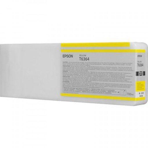 Epson T6364 Eredeti Sárga Plotter Tintapatron