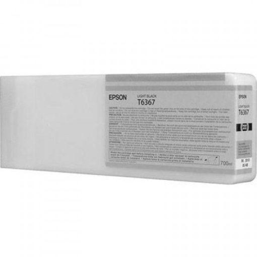 Epson T6367 Eredeti Világos Fekete Plotter Tintapatron