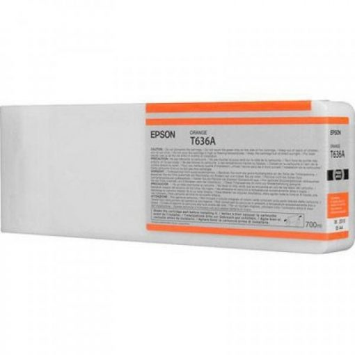 Epson T636A Eredeti Orange Plotter Tintapatron