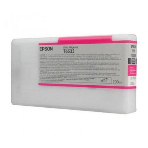 Epson T6533 Eredeti Magenta Plotter Tintapatron