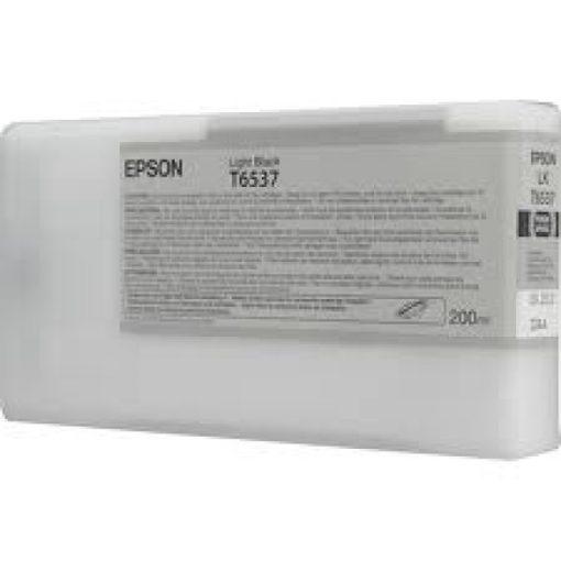 Epson T6538 Eredeti Matt Fekete Plotter Tintapatron