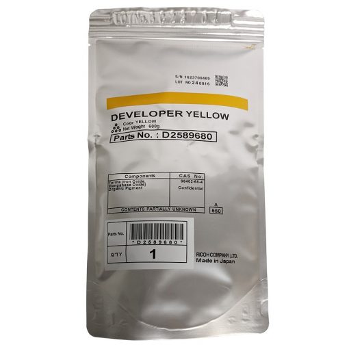 Ricoh MPC6503, C8003 Genuin Yellow Developer