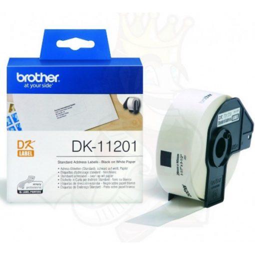 Brother DK11201 etikett (Eredeti)