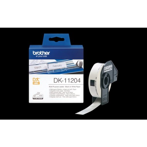Brother DK11204 etikett (Eredeti)