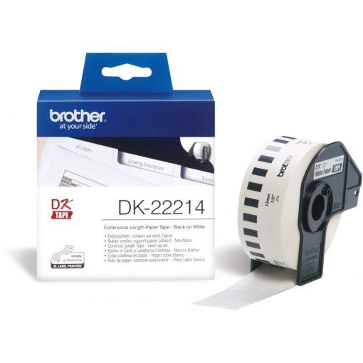Brother DK22214 papírszalag (Eredeti)