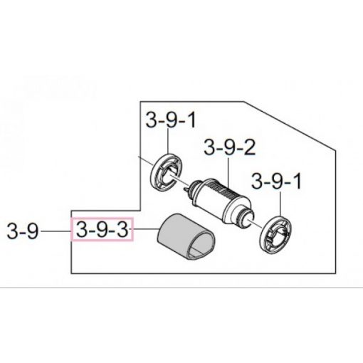 SA ML 3051 Pickup roller palást CT /JC66-01168/