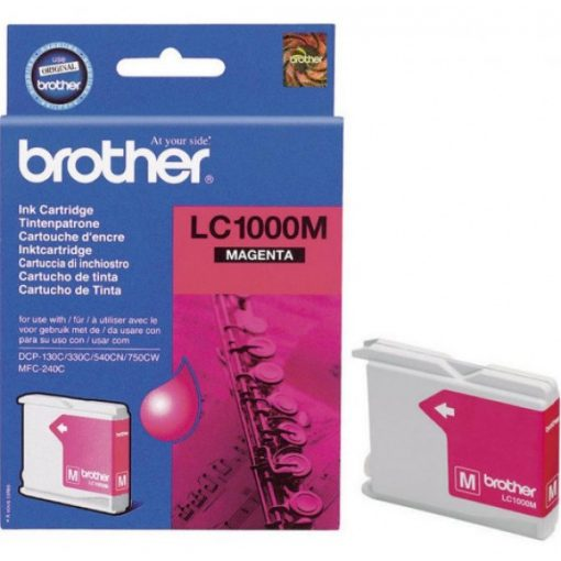 Brother LC1000M Eredeti Magenta Tintapatron